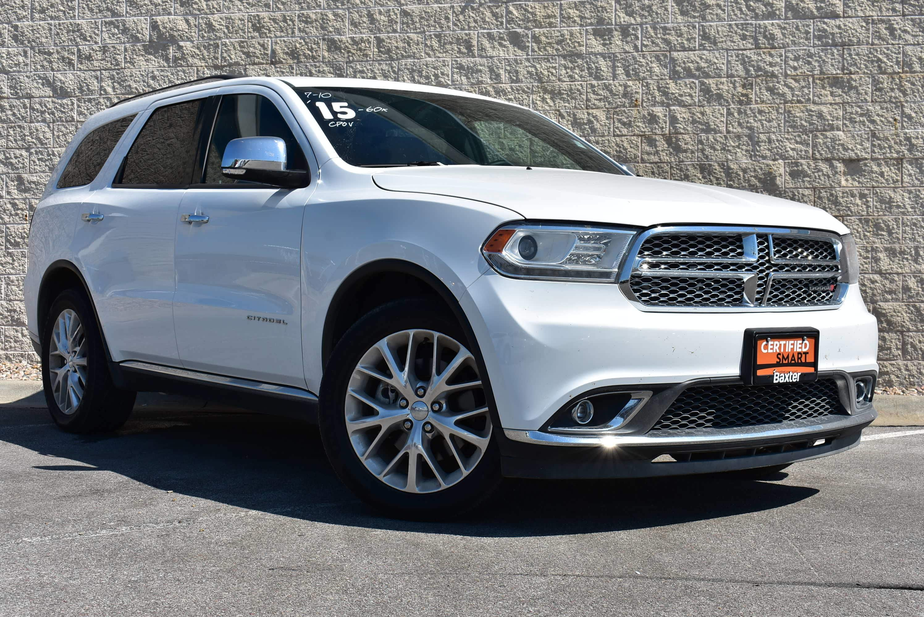 Certified Pre Owned 2015 Dodge Durango Citadel Sport Utility in