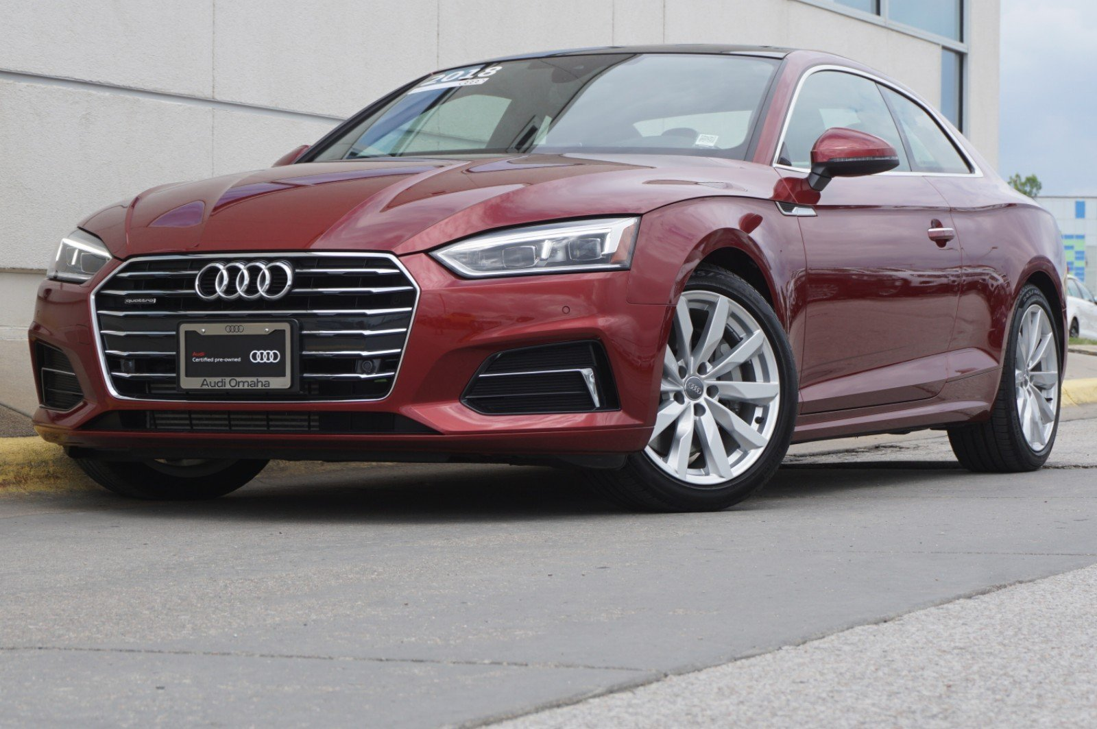 Certified PreOwned Audi A Coupe Premium Plus Dr Car In Omaha - Audi omaha